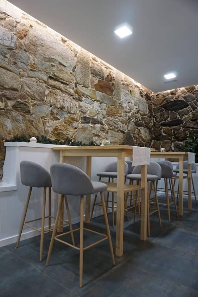Interior del restaurante Mazaroca