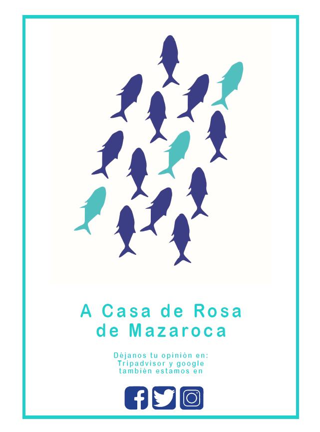 menu mazaroca español