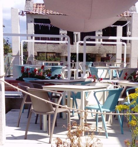 Terraza restaurante Mazaroca